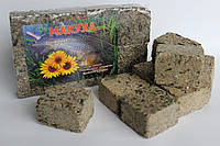 Макуха подсолнечника ( брикеты 8шт ) натура