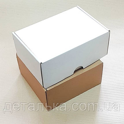 Самосборные картонные коробки 210*110*70 мм., фото 2