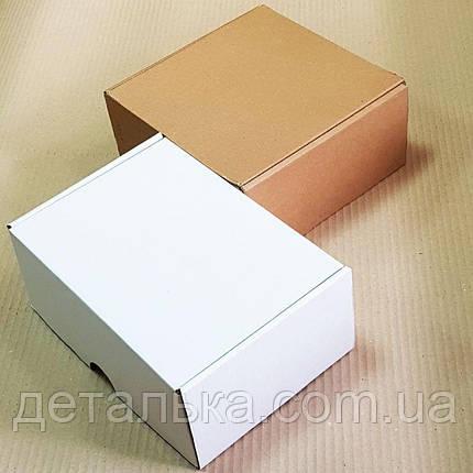 Самосборные картонные коробки 200*130*75 мм., фото 2