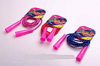 Скакалка детская с пластиковыми ручками (евро упаковка)