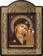 Набор для вышивки бисером  Богородица Казанская СН 8002