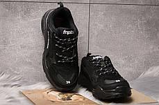 Кроссовки женские  Balenciaga Triple S, черные (14911) размеры в наличии ►(нет на складе), фото 3