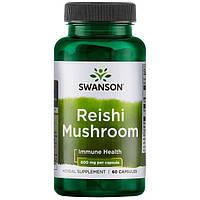 Рейши Reishi Mushroom 600мг 60 капсул