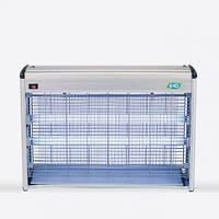 Стационарный электро-уничтожитель насекомых EGO-01-40W, с двумя УФ-лампами, разряд 2500В