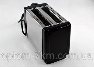 Тостер Domotec MS 3231 Нержавіюча сталь/чорний Потужність 650W Mx