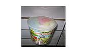 Мел цветной Jumbo (толстый-асфальтный) 15 цветов в ведерке.