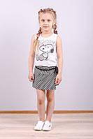 Костюмчик детский с юбкой-шортами Snoopy