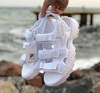 Fila Sandal White Silver | сандалии / босоножки женские; летние; белые; фила