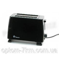 Тостер Domotec MS 3232 Нержавіюча сталь/чорний Потужність 650W Mx
