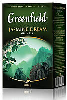 Чай  Greenfield Jasmine Dream листовой 100г.