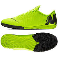 Футзалки Mercurial VaporX 12 Academy IC, Салатовый, Nike, Мужская, Салатовый, 39, IC футзальная, Гладкая, зальная поверхность