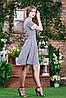 Воздушное платье горохи п-6361, фото 3