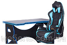 Рабочая станция Barsky Homework Game Blue/Black HG-04/SD-19, фото 2