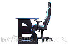 Рабочая станция Barsky Homework Game Blue/Black HG-04/BG-01, фото 2