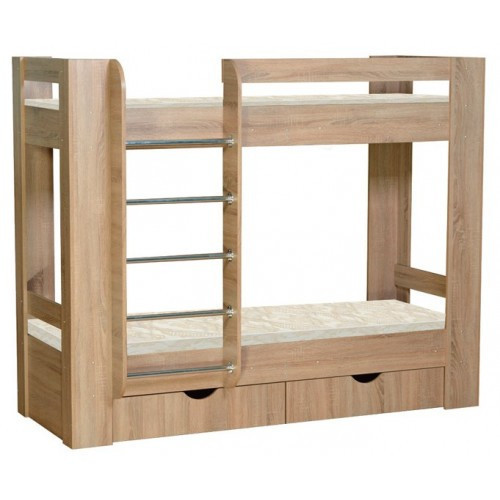 Двухъярусная кровать с ящиками Дуэт -3