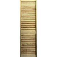 Двери жалюзи сосна 606x494 мм