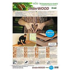 Підкладка STEICO UNDERWOOD коричнева (4 мм)