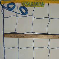 Сетка для классического волейбола «ЭКОНОМ 15» сине-желтая