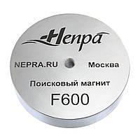 Поисковый магнит НЕПРА F600, ☑усилие 800кг, ✦ТРОС В ПОДАРОК✦ ✦ДОСТАВКА БЕСПЛАТНАЯ✦
