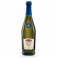 Итальянское десертное игристое вино Мartini Moscato d'Asti (Мартини Москато) D.O.C.G. 750ml