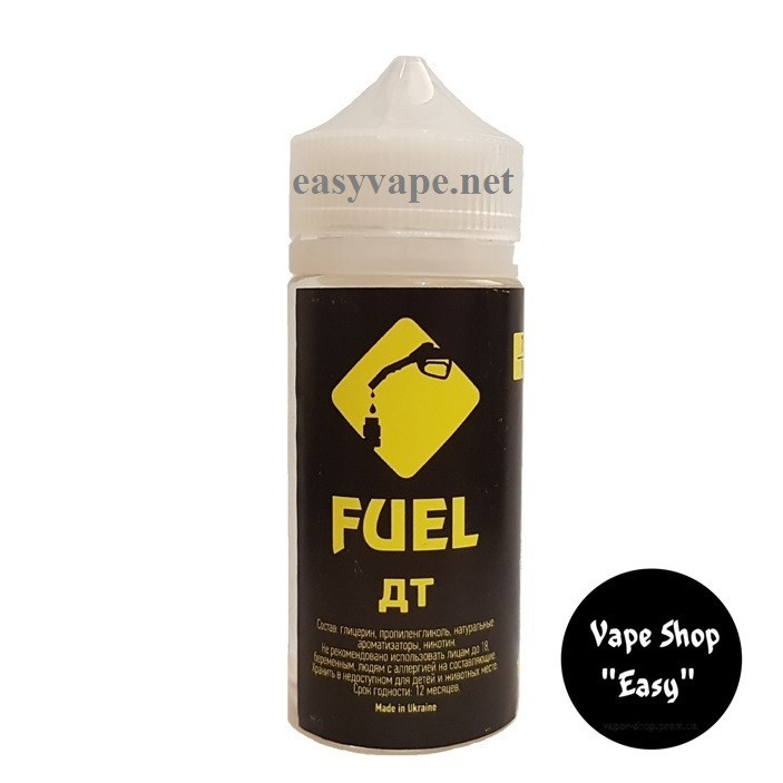 Fuel Дт 100 ml Жидкость для электронных сигарет \ вейпа.