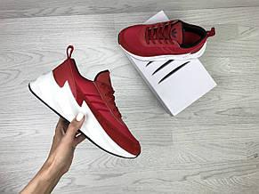 Подростковые,женские кроссовки Adidas Sharks,красные, фото 3