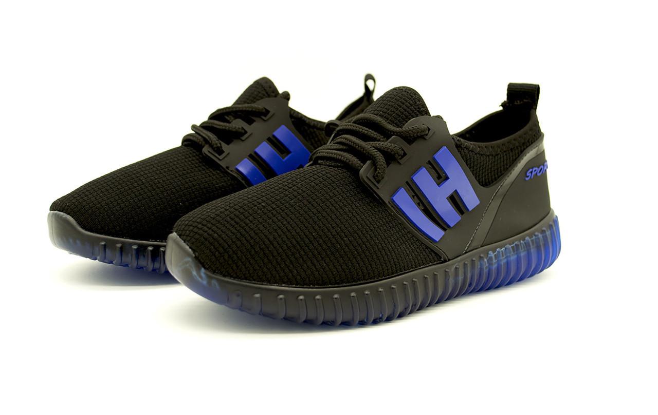 Кроссовки для мальчика со светящейся подошвой Размеры: 30