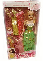 Детская кукла с платьями 6603-5