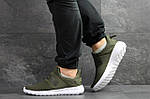 Мужские кроссовки Adidas (темно-зеленый), фото 3