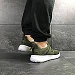 Мужские кроссовки Adidas (темно-зеленый), фото 4