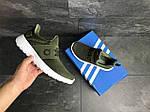 Мужские кроссовки Adidas (темно-зеленый), фото 5