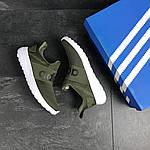 Мужские кроссовки Adidas (темно-зеленый), фото 6