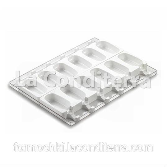 Силиконовые формы для десертов SILIKOMART CLASSIC GEL01 (12 ячеек, объем=1080 мл)