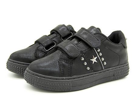 Кроссовки для девочки черные Размеры: 31, 32, 33, 34, фото 2