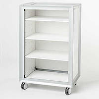 Bentlon Cabinet Silver XS White