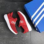 Мужские кроссовки Adidas (красные), фото 5