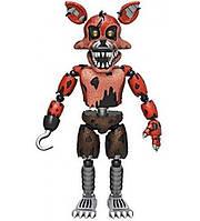 "Игрушка Пять ночей с Фредди Кошмарная Фокси Фнаф Funko 5"" Articulated Five Nights at Freddy's - Nightmare Foxy"