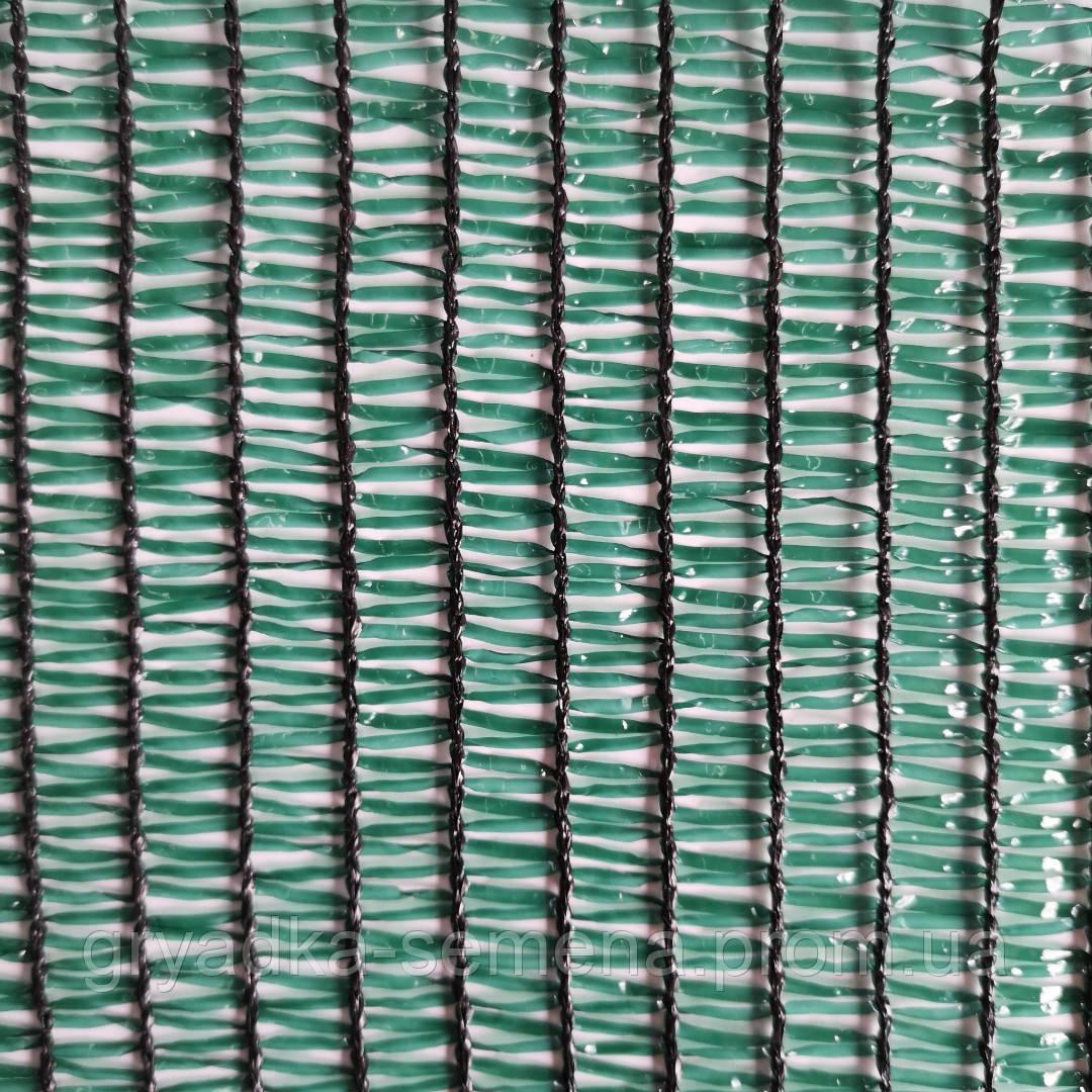 Сетка затеняющая Karatsiz 50% 2х50 м зеленая Греция, фото 1