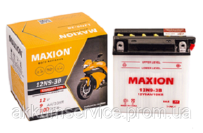 Аккумулятор мото MAXION 6N11A-3A (6V,11A)