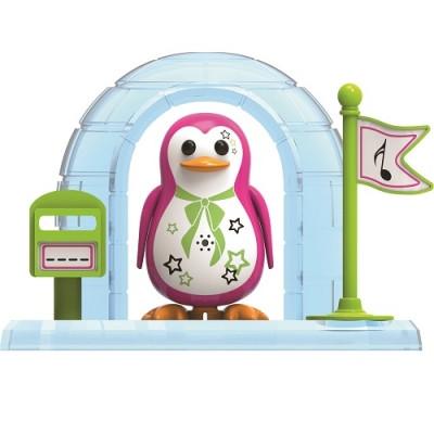 Игровой набор с интерактивным пингвином DigiPenguins - ИГЛУ ПЕЙДЖ (с иглу и свистком)