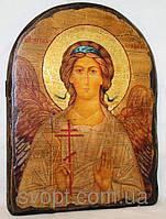 """Икона под старину """"Ангел-Хранитель"""" арка"""