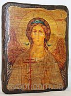 Икона под старину Ангел- Хранитель
