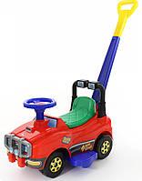 Автомобіль каталка Джип з ручкою 3378