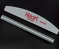 Шлифовщик Heart 100/100 Half, серый