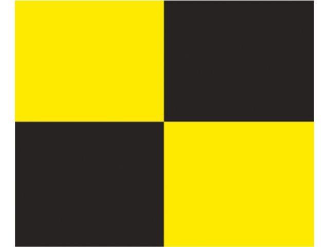 Сигнальный флаг Lima 30 x 36 см