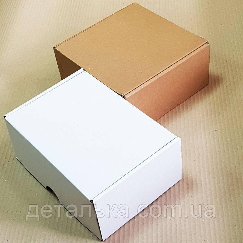 Самосборные картонные коробки 160*160*60 мм.