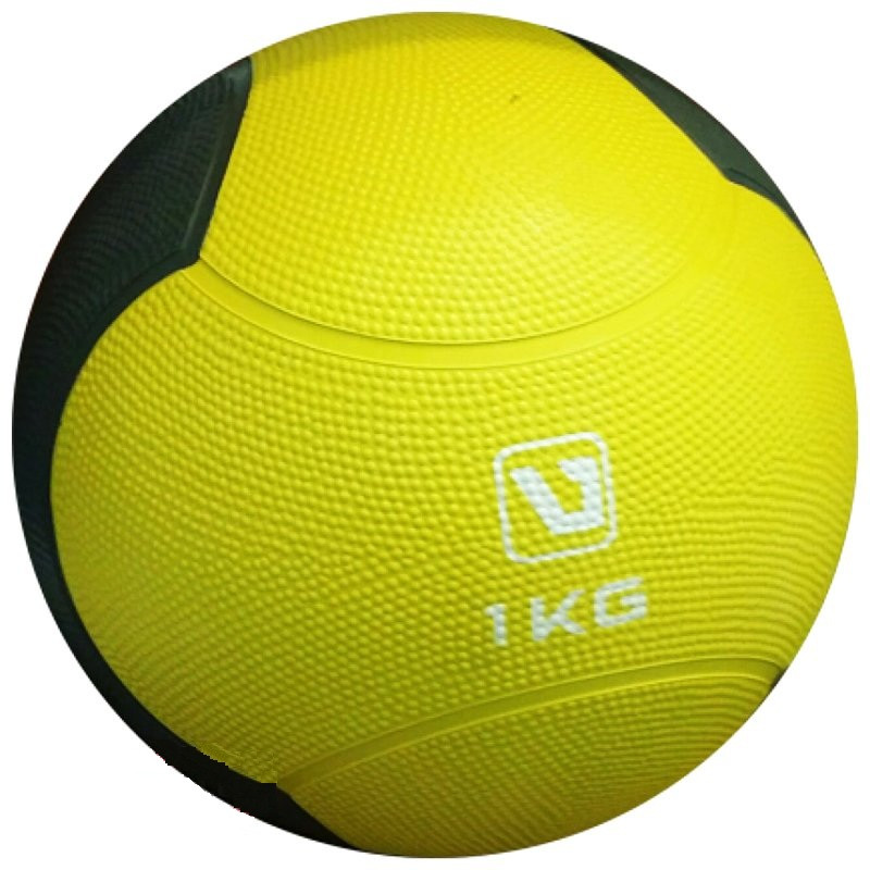 Медбол твердый LiveUp MEDICINE BALL, 1 кг, фото 1