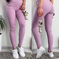 Женские брюки, джинс/коттон Разные цвета