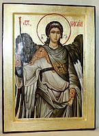 Икона греческая Архистратиг Михаил золото