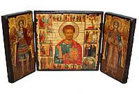 Складень апостол Лука (тройной квадратный)